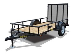 Big Tex 35SA Single Axle Utility Trailer(12')