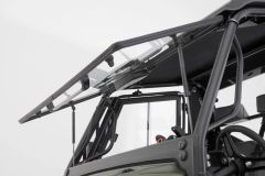 Tilting Glass Front Window with Optional Power Wiper