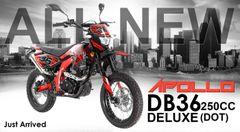 APOLLO DB36 250CC DELUXE (DOT) STREET LEGAL