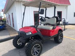 Gas Yamaha Golf Cart - Red
