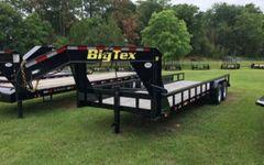 Big Tex 14GP-Heavy Duty Pipe Top Gooseneck Lowboy Trailer 24'
