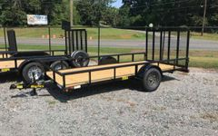 Big Tex 35SA Single Axle Utility Trailer(10')
