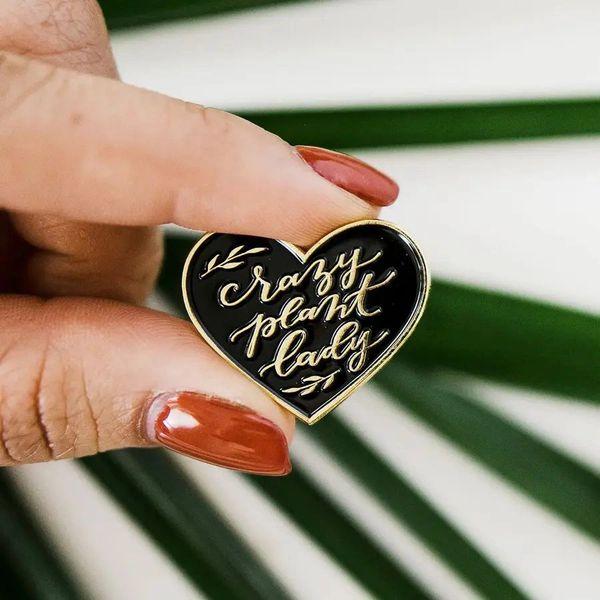 Crazy Plant Lady pin - A Garden Club gotta have!