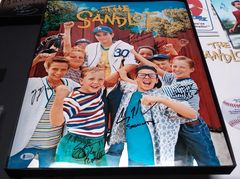 """The Sandlot"" 16x20 (Chrome Print) 6x Cast Member Signed Movie Poster Photo w/ Beckett Cert."
