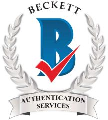 Beckett Witness Certificate of Authenticity