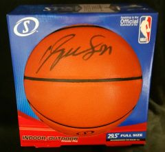 Dominique Wilkins Autographed Basketball w/ Beckett C.O.A.
