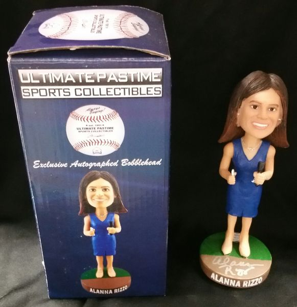 Alanna Rizzo - Ultimate Pastime Exclusive Autographed Bobble Head