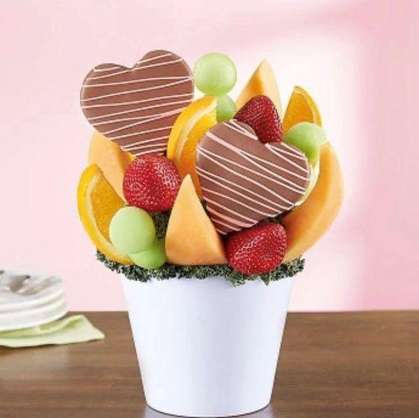 Pineapple Heart Fruit Bouquet