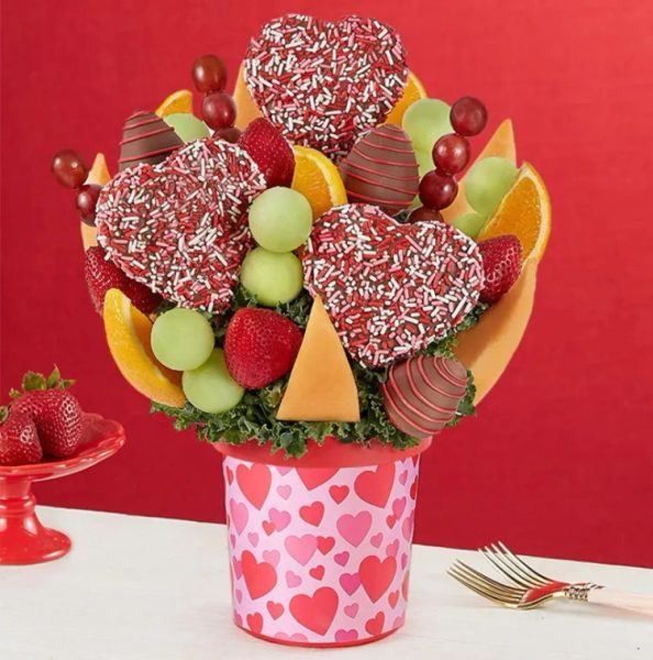 Love Hearts Sprinkles Bouquet