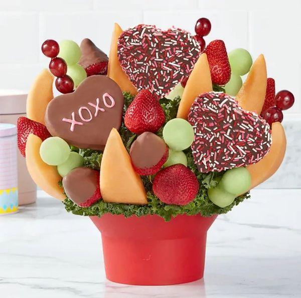 Xoxo Fruit Arrangement Bouquet