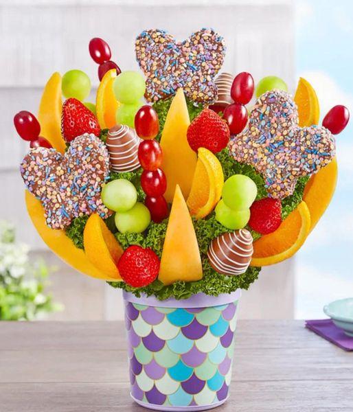 Butterflies Fruit Bouquet