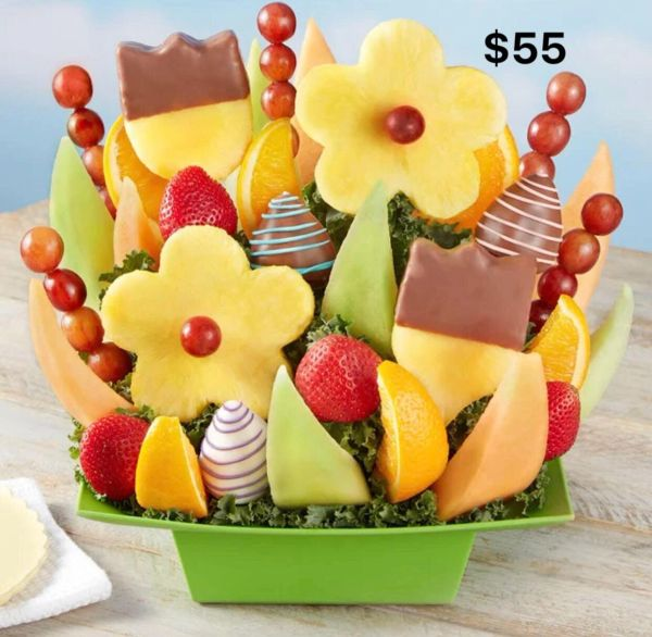 Tulip Special Fruit Arrangement Bouquet