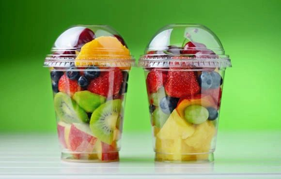 Snack Cups - Mixed Fruit Cups - 12 oz (10 cups)