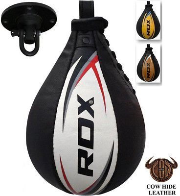 RDX Leather Speed Ball & Swivel