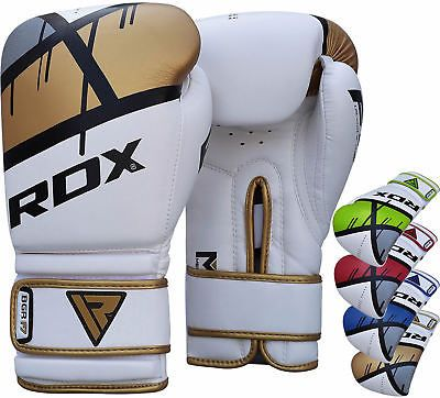 RDX Sparring Boxing Gloves Leather