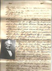 Ex-Confederate Treasury Secretary Memminger Takes Testimony in Post-Civil War Explosion