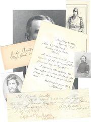Civil War Officers Fought at Gettysburg, Chancellorsville, Antietam, Stonewall Jackson's Campaign