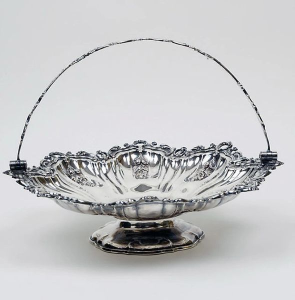 Victorian Sheffield Cake Basket, Extraordinary Design