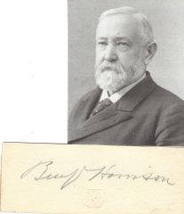 President Benjamin Harrison Noted for Economic Policy, Unable to Secure Help for African Americans