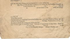 Meshech Weare, Father of New Hampshire, Its First President, Signs Colonial Document