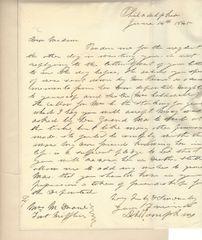 Col. Daniel D. Tompkins, Nephew of Vice President, Brevetted at Battle of Felasco
