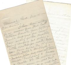 6 Letters, 1843-1907: Ore Mine, Gold, Silver, Jail, Institution for Poor Creatures, Political Involvement