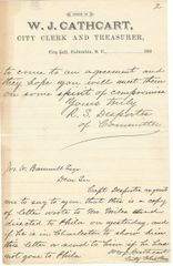 Three SC Confederate Officers Involved in Atlanta, Fort Sumter, Seven Days -- Autographs