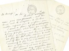 Civil War Letters: West Stockbridge, MA, Recruits Soldiers, Pays Bounties