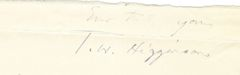 John Brown's Secret Supporter Thomas Higginson -- Famous Secret Six