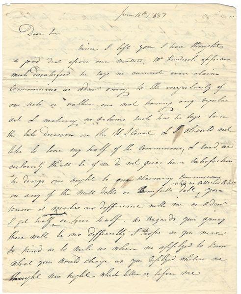 1838 Naval Pursuer Appeals To Martin Van Buren Appointee For Pay; Fears Lawsuit
