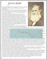 John Brown Benefactor, Secret Six Member Gerrit Smith And Tennessee Confederate George Washington Jones