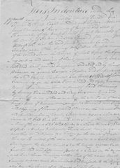 Samuel Haycraft, Lincoln Researcher, Signs 1815 Hardin County, KY, Deed Twice