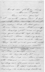 209th PA Civil War Soldier Wounded At Fort Stedman, Writes Of Sheridan's Victories And Captured Rebels