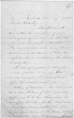 5th Kansas Infantry LT. Writes Of Treason, Rebel Meetings, Putting Down Traitors, Innocent Citizens Being Killed