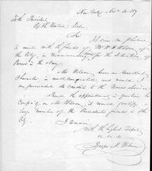 Renowned NY Author Founded Civil War Defense, Wrote Martin Van Buren