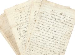 4 Civil War Letters From PA 119: Soldier Gets Hit With Bullet, Takes Hair Out -- Wounded At Spotsylvania