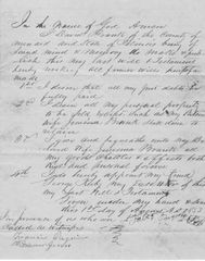 Abraham Lincoln Friend Dr. Francis Regnier Witnesses Minard County Pioneer's Last Will And Testament