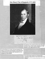 The Great Compromiser Henry Clay Became Most Influential Political Figure Of His Era