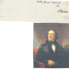Second Bank Of The United States President Nicholas Biddle Autograph
