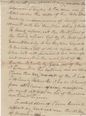 [First Virginia Family] Burwell Family Members Witness 1806 Document Releasing Slave Ownership
