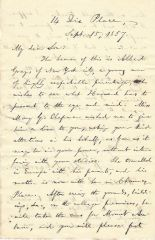 Notable Boston Abolitionist William Lloyd Garrison Asks Nephew To Aid Friend Learn About Harvard