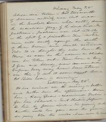 Jurist Diary-Journal On Early Civil War Battles And Maine's Involvement