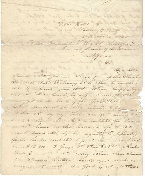 Cherokee Removal And The Debts of Chief John Ross; Last Confederate General To Surrender