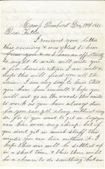 1st Maine Civil War Private Eaton Writes Of Infamous Confederate Mason & Slidell Affair, Burning Of Charleston By Negroes