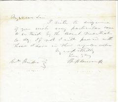 Confederate Gen. John Henry Winder Wants Court Martial Trials Held In Sequence