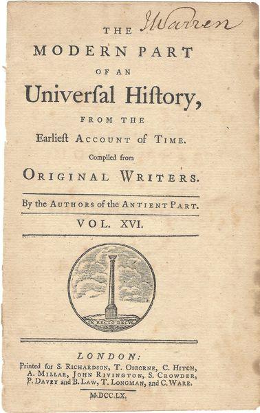 [Mayflower Descendant] Battle Of Bunker Hill, Revolutionary War Patriot James Warren Signs Cover page