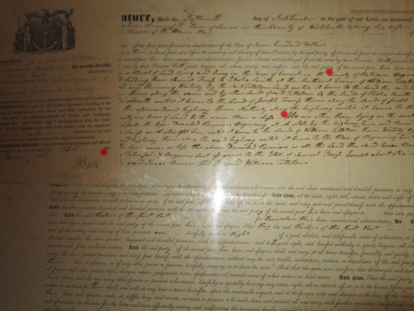 Westchester County, NY, Revolutionary Soldiers, Officers Sign Early 19th Century Indentures; Helped Shape The New America