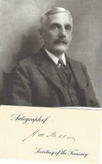 [Great Depression, Impeachment] Treasury Secretary Andrew Mellon Autographs Card