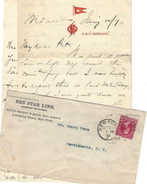 [Einstein, The Godfather] Historic Red Star Line Voyage Hears God Save The Queen