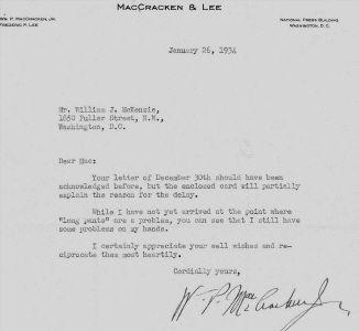 William MacCraken, America's First Aviation Regulator